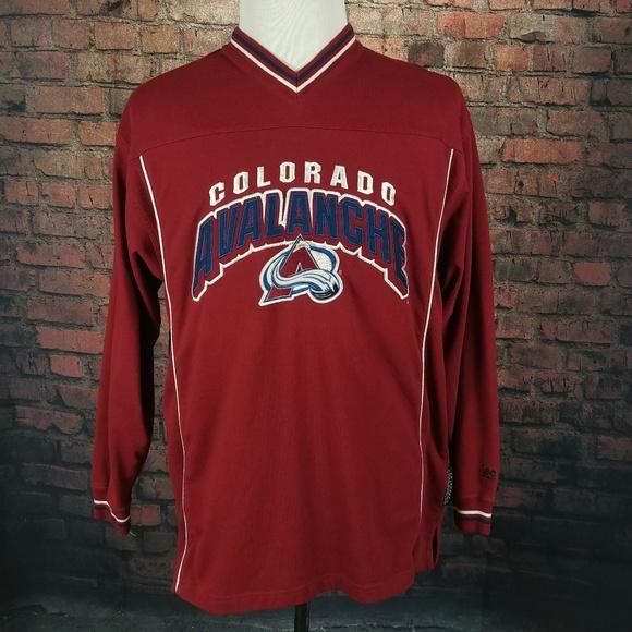 Lee Sport Other - Lee Sport Colorado Avalanche Sweater Large Vintage 047c03e9e